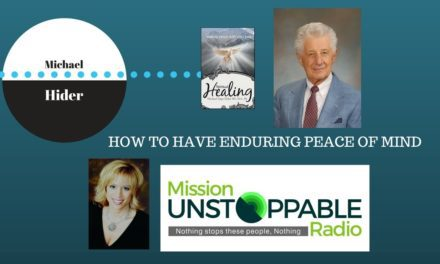 What would you DO to have Enduring Peace of Mind?