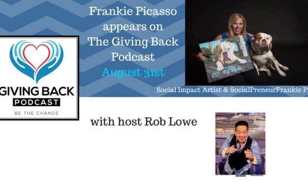 Frankie Picasso on the Giving Back Podcast!  www.givingback.com