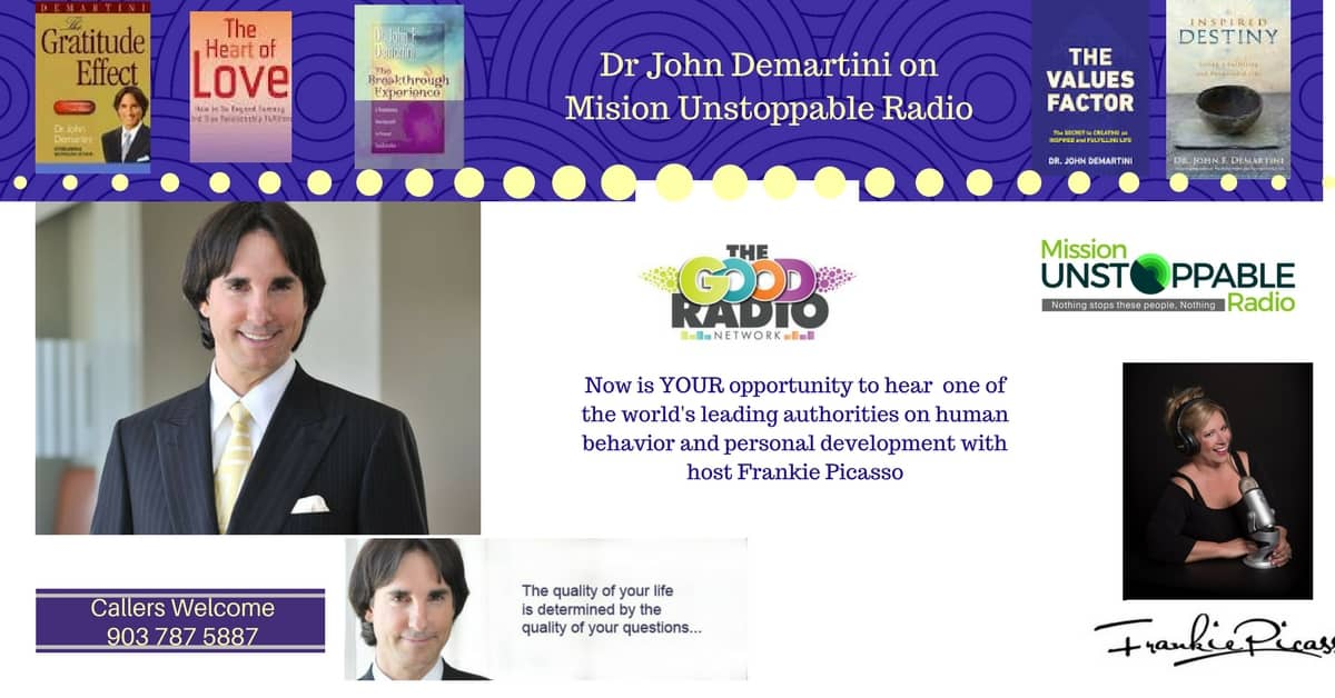 The Unstoppable Dr. John Demartini
