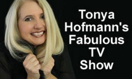 Frankie Picasso appears on Tonya Hofmann's FABULOUS TV SHOW!!!