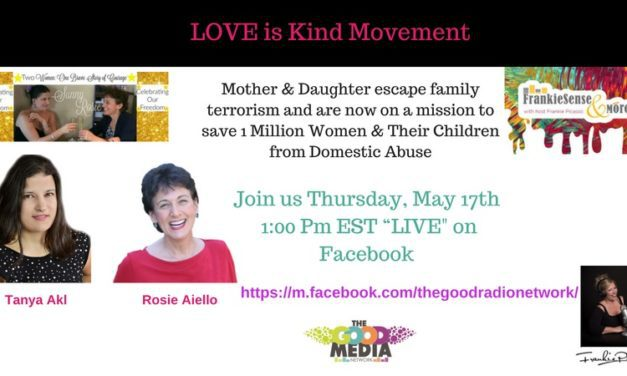 The Love is Kind Movement- Escaping Family Terrorism